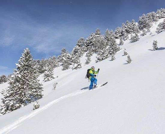 Canillo, Andorra: Freeride Alt del Griu