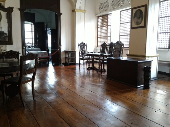 Taal, Philippines: Inside of marcela's museum
