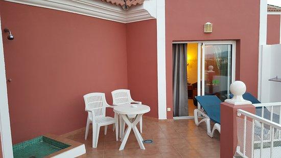 Nice big veranda & shower - Picture of Hotel Los Arcos, Nerja ... House Big Design Veranda on house veranda fashion, luxurious summer veranda design, house with veranda, house of windsor veranda, ideas for front porch stoop design, small veranda design, modern terrace design, cantilever design, veranda outdoor design,