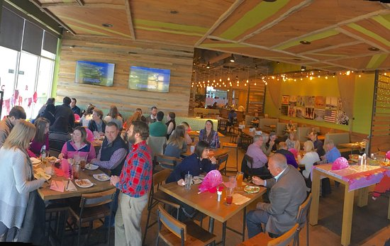 California Pizza Kitchen: We Had A Wonderful Baby Shower For 40 People.