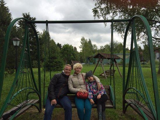 Dmitrovsky District, Russland: качели