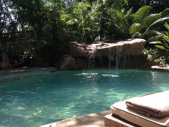 Savanna Private Game Reserve: Piscine à débordement