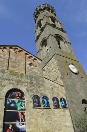 Peccioli, Italien: La pieve e la torre