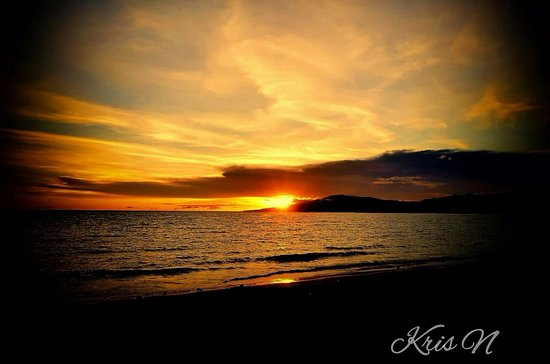 Glan, Philippines: Sunset at Gumasa