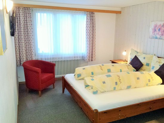 Hotel Tschuggen: Double room