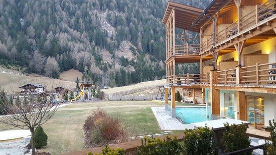 Hotel Masl: Vista dalla terrazza