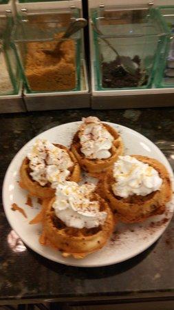 Spokane Valley, Waszyngton: pumpkin waffles