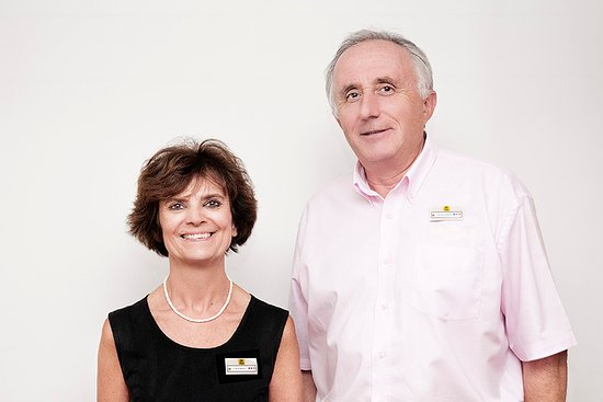 Hotel du Lion d'Argent: Françoise et Pierre-Marie Audebert
