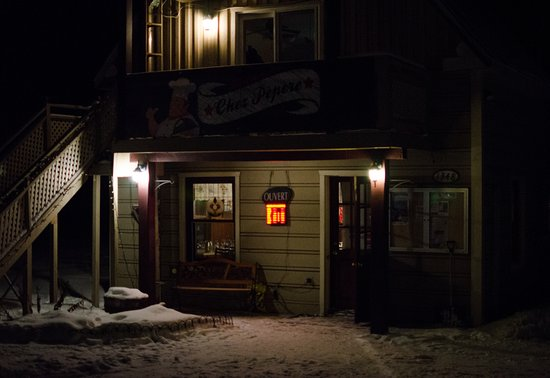 Duhamel, Canada: Chez Pèpère by night