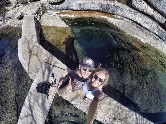 Jacob's Well Natural Area-Hays County Parks: Jacobs Well SELFIE!