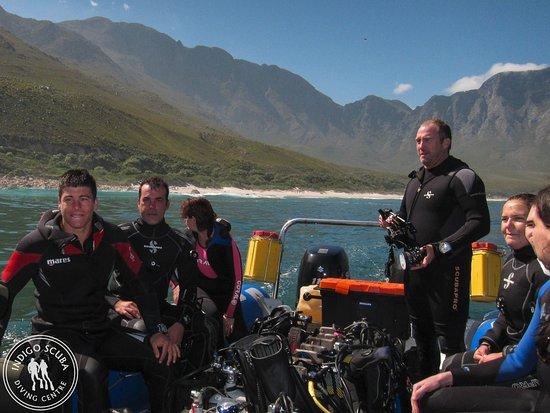 Gordon's Bay, جنوب أفريقيا: Friendly divers and beautiful diving