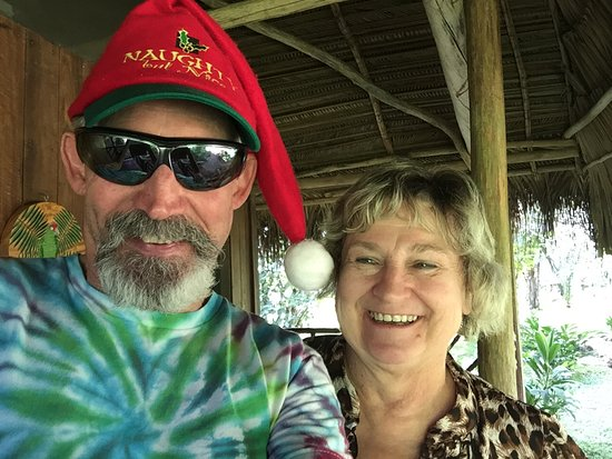 Punta Gorda, Belize: Merry Christmas from our cabin in Belize.