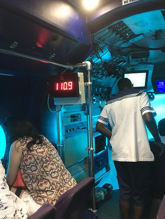 Whale Submarine Maldives Bild
