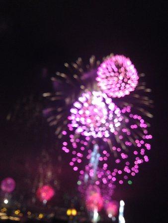 Porto Santa Maria Hotel: New Year fireworks