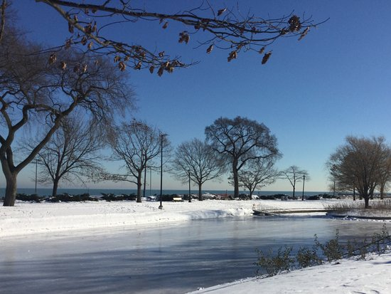 Evanston, IL: Ice Rink by the Lake