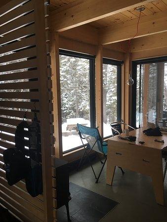 Mont-Tremblant National Park, Canada: Poêle à bois