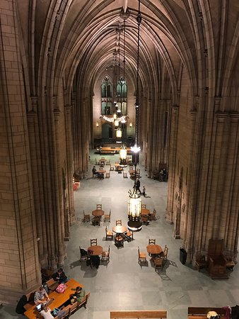 Cathedral of Learning: From second floor looking over main hall