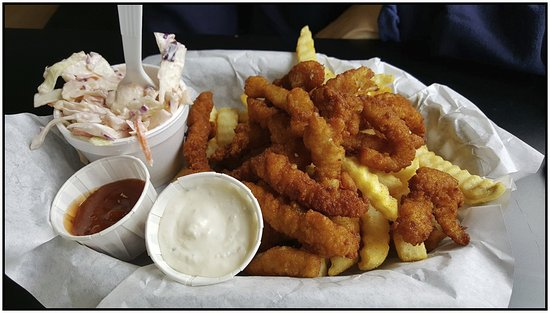 Harbor, Oregón: Clam strips