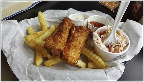 Harbor, Oregón: Fish n Chips