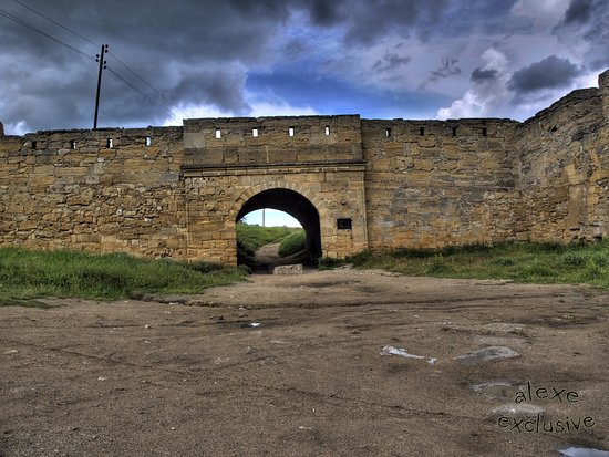 Kerch: вид на вход в крепость
