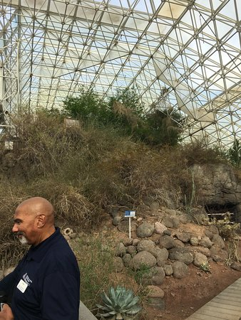 Oracle, AZ: The desert biome, with Orville!
