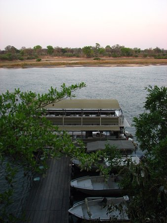 Caprivi Region, Namíbia: View from pool