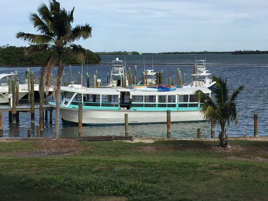 Bokeelia, Floride : Tropic Star boat at Cabbage Key