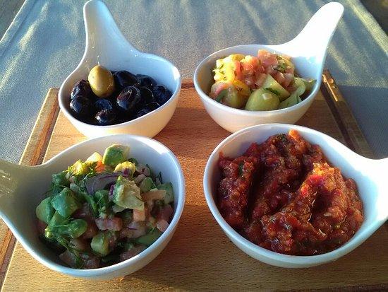 Green Beach Restaurant: Nicely presented light food
