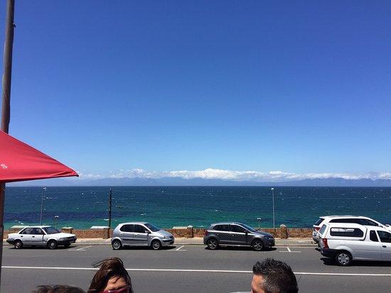 Glencairn, Südafrika: Vista da praia