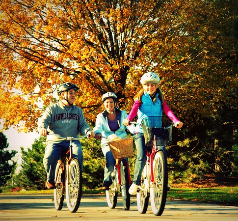 Huron, OH : Fun for all ages!  Bike rental available!