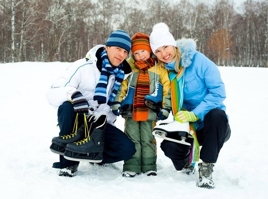 Sawmill Creek Resort: Ice skating, snow shoeing and trails on property (depending on weather)