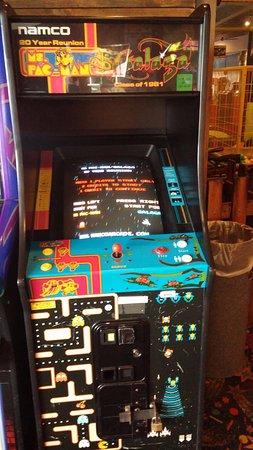 Bury, UK: a very old arcade machine