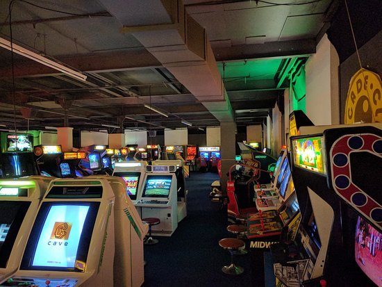 Bury, UK: some arcades