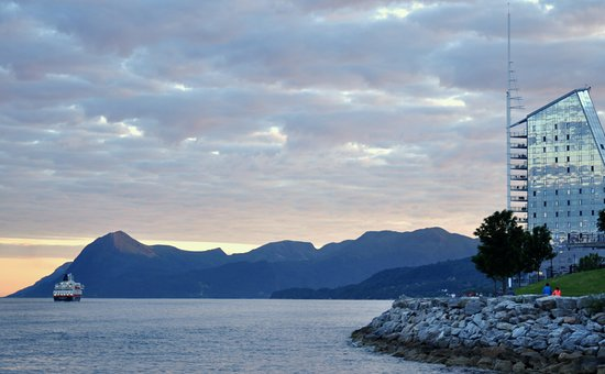 Molde, Norge: На закате