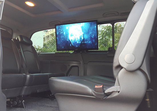 Interior of one of our Mercedes Vito minibuses - Picture of Dalaman ...