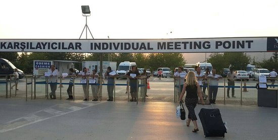 Dalaman airport 'Individual Meeting Point'