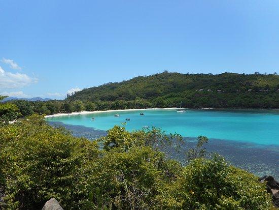 Port Glaud, Seychellerna: Απο μακριά