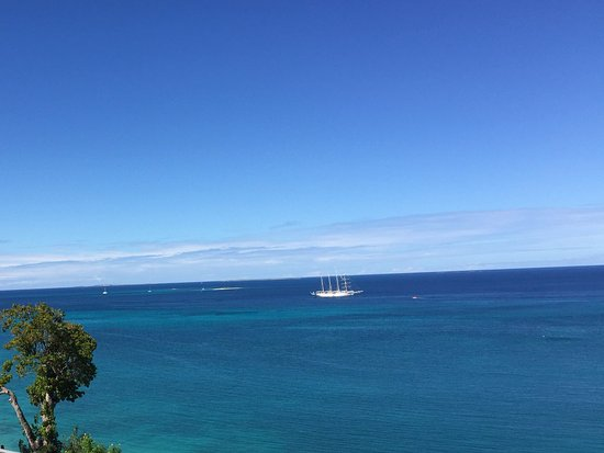 South Hill, Anguilla: view from our balcony