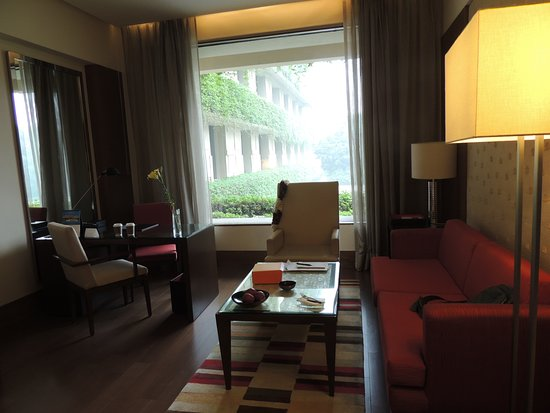 The Oberoi, Gurgaon: sitting area