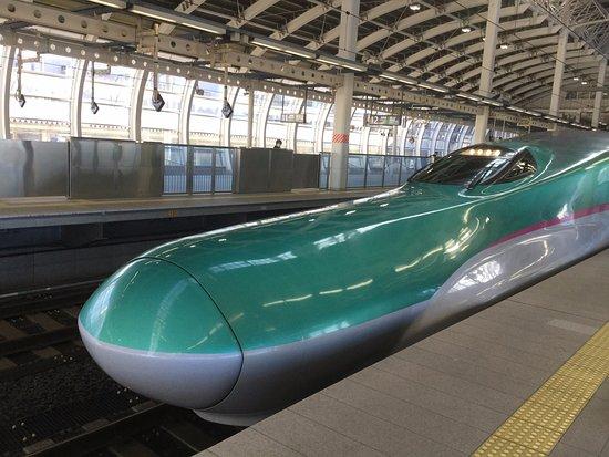 Tohoku, Japan: 下車した八戸駅で撮影(こまちを分離した盛岡でも撮影出来ます)