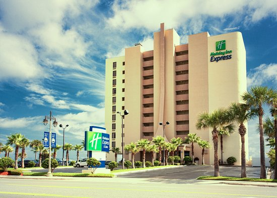 Foto de Holiday Inn Express and Suites Oceanfront