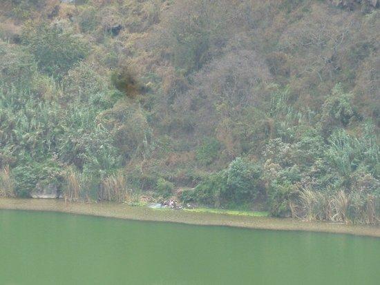Butajira, Etiopien: acqua verde smeraldo