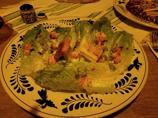 Los Adobes de Todos Santos : Caeser Salad