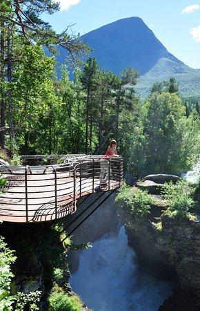 Valldal, Norway: Ландшафт покоряет красотой