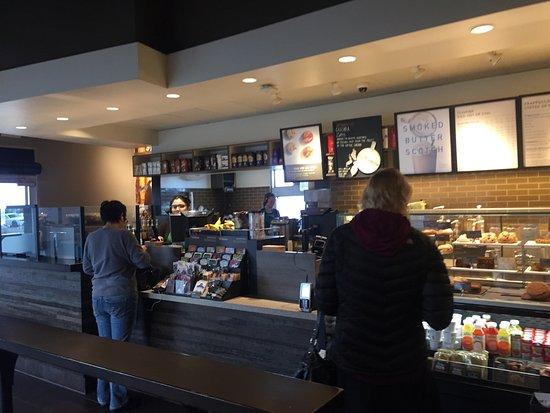 Lebec, Калифорния: Starbucks