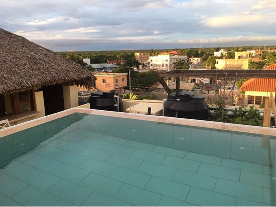 small rooftop pool with a great view picture of hotel villa iguana rh tripadvisor com