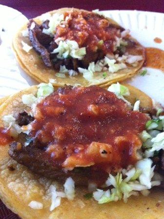 Hanford, CA: Carne Asada tacos