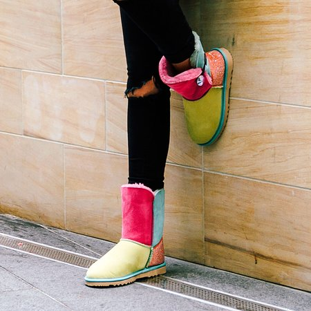 Miami, Australia: Our TriColour boot is perfect to add some colour to your wardrobe.