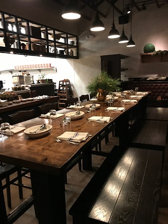 Chef S Table High Top Community Dining Picture Of