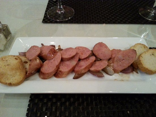 Ogan Restaurant: Brazillian sausages